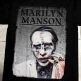 เสื้อยืดลาย Marilyn Msnson