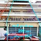 อาคารพาณิชย์ 2 คูหา 5 ชั้น เจริญนคร 66/1 ทำเลดี สภาพสวย ราคาถูก