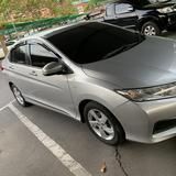 Honda city 2015 สีเงิน วิ่งน้อย สภาพเหมือนใหม่ ราคาคุยกันได้คับ