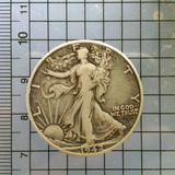 5349 เหรียญโลกเนื้อเงิน Half Dollar (Walking Liberty)น้ำหนัก