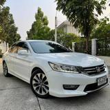 72 Honda Accord G9 2.4 EL NAVI TOP ปี 2013 สีขาว เกียร์ออโต้
