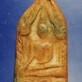 พระขุนแผนกุมารทอง เกจิยุคเก่าสร้าง เจ้าของเดิมคล้องบูชาเลี่ยมเปิดหน้าหลัง