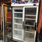 ขายตู้เย็นsanden intercool 2 ประตู สภาพดีมาก
