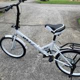 จักรยานพับได้ พกพา ขนาด 20 นิ้ว  มี 4 สี แถมกระดิ่งไม่มีตะกร้าและเบาะหลัง