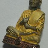 R 31. รูปหล่อ ลอยองค์ สมเด็จ โต พรหมรังสี เงิน สามกษัตริย์.