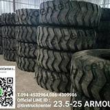 บริษัท ลักค์ 888  จำกัด จำหน่ายยางรถตักขนาด  23.5-25  ARMOUR