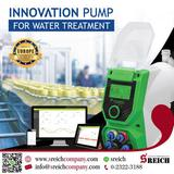 Dosing Pumps ปั๊มโดส ปั๊มฟีด เครื่องเติมสาร ในกระบวนการผลิตน้ำดื่ม มาตรฐาน NSF