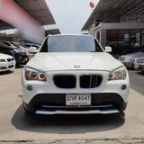 107 BMW X1 SDrive 1.8i 2013 สีขาว เครื่องเบนซิน