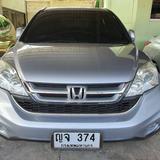 24 Honda Crv 2.4 El 4WD top Navi ปี 2011 สีบอร์นเงิน เบนซิน