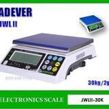 เครื่องชั่งดิจิตอล ตาชั่ง30กิโล ความละเอียด2g ยี่ห้อ JADEVER รุ่น JWL II-30K