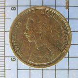 3890 เหรียญ ร.5 ทองแดง หนึ่งอัฐ รศ.124 หลังพระสยามเทวาธิราช