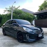 143 Mitsubishi Attrage 1.2 GLS 2014 At สีดำ