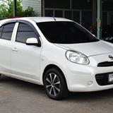 Nissan March 1.2E AT สีขาว ปี2013 ราคา 219,000 บาท