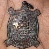 เต่าปู่หลิวแช่นำ้มนปี34คราบนำ้มนเดิมๆนิยมดูเข้มขัง
