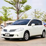 Nissan Tiida 1.6L HB 1.6 S-AT ปี 2012 สีขาว