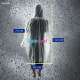 เสื้อกันฝน ชุดกันฝน Raincard ขนาดพกพา