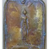 เหรียญหล่อโบราณหลวงพ่อเชิด พิมพ์ปีมะโรง 2469 วัดลาดบัวขาว