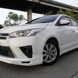 Toyota Yaris 1.2G 2014 มือเดียว เดิมๆ ประวัติศูนย์ ไม่ติดแก๊ส ไม่เคยชน ยางใหม่ ฟรีดาว์น