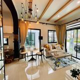 เปิดโครงการใหม่  บ้านสวย สไตล์  English Cottage   50 ตรว.ขึ้นไป  จองเพียง 2000 บาท ฟรีค่าโอน