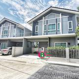บ้านแฝด 2 ชั้น หลังริม โครงการ เพอร์เฟคพาร์ค เนื้อที่ 40.7 ตรว. มี 3 ห้องนอน 3 ห้องน้ำ จ.ปทุมธานี