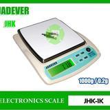 เครื่องชั่งดิจิตอล เครื่องชั่ง ละเอียด1000g ความละเอียด0.2g ยี่ห้อ JADEVER รุ่น JKH-1000