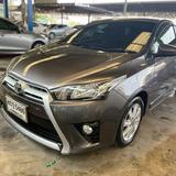 51 Toyota New Yaris 1.2 E ปี 2014 สีเทา