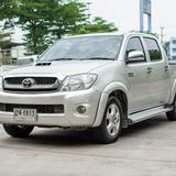 Toyota Hilux Vigo 3.0 G กระบะ4ประตูเตี้ย ตัวท๊อปเกียร์ออโต้ ดีเซล ยอดนิยมคนไทย ใช้รองรับทุกอาชีพ ปัญหาการใช้งานน้อย