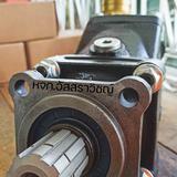 ปั้มงอไฮดรอลิคค หรือปั้มนิ้วแบบงอไฮดรอลิค ยี่ห้อ TDZ รุ่น FR series
