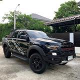 164 Ford Ranger 2.2 XLT 6 speed Hi - Rider MT สีดำ ดีเซล 2021