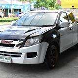Isuzu Dmax 2.5 Cab VGS. M/T  สีขาว  ปี 2013