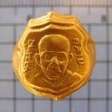3058 แหวนหลวงพ่อคล้าย วัดสวนขัน เนื้อทองเหลือง เส้นผ่าศูนย์ก