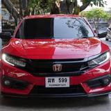 86 Honda Civic FC 1.8 EL Top 2018 Auto สีแดง