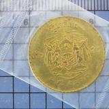 009 เหรียญกษาปณ์ 50 สตางค์ พ.ศ. 2493 รัชกาลที่ 9 ตัวบาง สวยเ