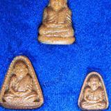1359 หลวงพ่อเงิน วัดบางคลาน เนื้อกระเบื้องหลังคาโบสถ์เก่า รุ