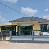 ขายบ้านเดี่ยวสร้างใหม่ บ้านแสนสุข 1 นิคมพัฒนา - ระยอง ทำเลดี ราคาถูก