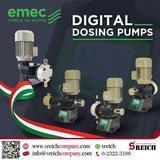 เครื่องฟีดสารละลาย ปั๊มโดสอัตโนมัติ Metering Pump