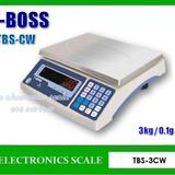 เครื่องชั่งดิจิตอล 3kg ตาชั่งดิจิตอล3kg เครื่องชั่งแบบตั้งโต๊ะ T-BOSS รุ่น TBS-3CW
