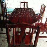 โต๊ะอาหาร  ก90xย190+ เก้าอี้ 6 ตัว