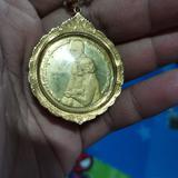 เหรียญในหลวง ร.9สมเด็จย่า ที่ระลึกการก่อสร้างอุทยานเฉลิมพระเกียรติสมเด็จย่า ปี 2538