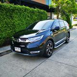 ขายรถ Honda CR-V 1.6 EL ปี 2019 สีดำ รุ่นท๊อปสุด เครื่องยนต์ดีเซล 4WD มือเดียว สภาพป้ายแดง