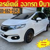 🚘ปี2019 Honda Jazz 1.5  V+ 🚘ไมล์แท้ 4x,xxx กม 100% 🚘มีรับประกันศูนย์ HONDA อีก 60,000 กม.