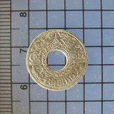 5060 เหรียญ 5 สตางค์ เนื้อเงิน ลายกนก ปี 2484 ใช้ในสมัย ร.8
