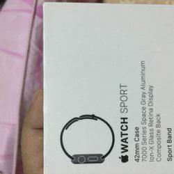 Apple watch gen1 42mm sport อลูมิเนียม สีดำ รูปเล็กที่ 3