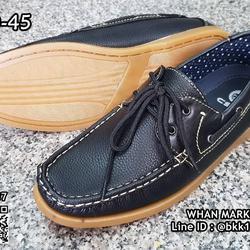 รองเท้าคัชชูหนังผู้ชาย boat shoes วัสดุหนังPU คุณภาพดี  รูปเล็กที่ 6