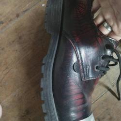 รองเท้าunderground แมงมุมเเดง 7uk รูปเล็กที่ 4