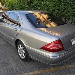 Benz S280 L 2004 ประวัติศูนย์ ระบบถุงลมและไฟฟ้าใช้งานได้สมบูรณ์ ไม่ติดแก๊ส สวยพร้อมใช้งาน  รูปเล็กที่ 6
