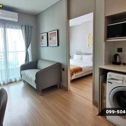 ให้เช่า คอนโด Built-In ยกห้อง Lumpini Suite เพชรบุรี-มักกะสัน 27 ตรม. เฟอร์ครบ พร้อมอยู่ รูปเล็กที่ 1