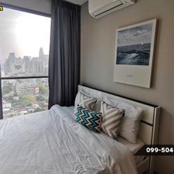 ให้เช่า คอนโด 2 ห้องนอน เครื่องใช้ครบครัน Lumpini Suite เพชรบุรี-มักกะสัน 43 ตรม. แถมยัง Built-In ทั้งห้องด้วยนะ รูปเล็กที่ 5