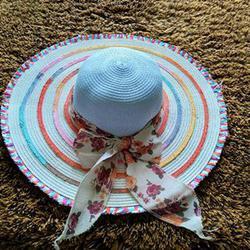 หมวกแฟชั่น หมวกไปทะเล หมวกปานามา สวยๆราคาถูกๆ รูปเล็กที่ 2