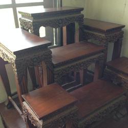 โต๊ะหมู่บูชา ไม้สัก รูปเล็กที่ 2
